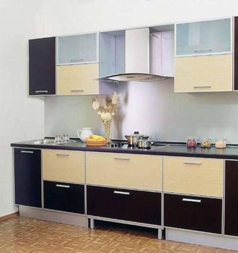 Mebel 14 Черно белая кухня