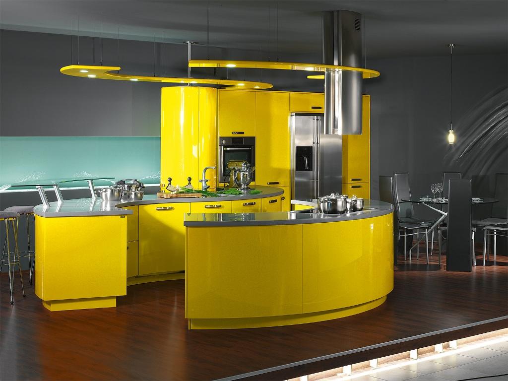 Желтенькая кухня