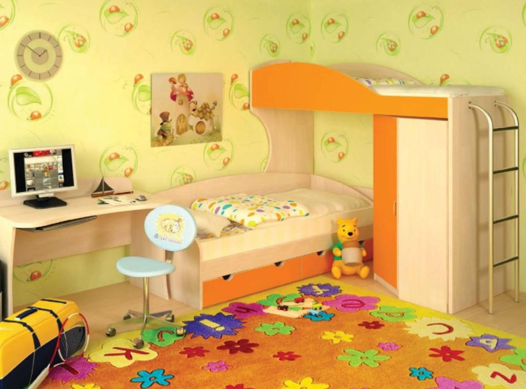 Солнечная детская мебель