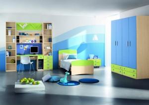 Строгая детская мебель