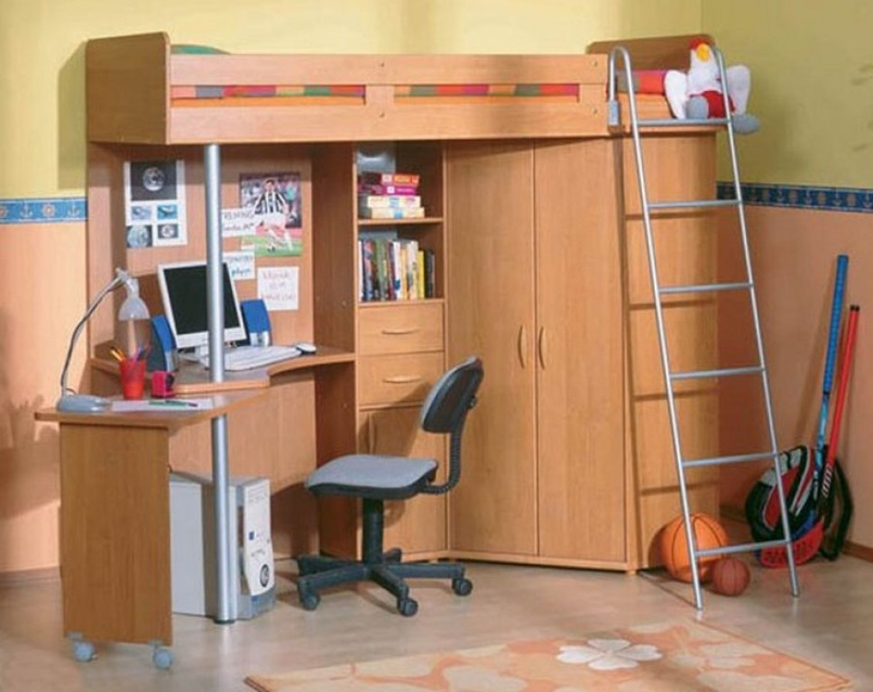 Детская комплексная мебель