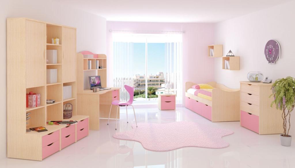 Mebel 42 Розовая мебель