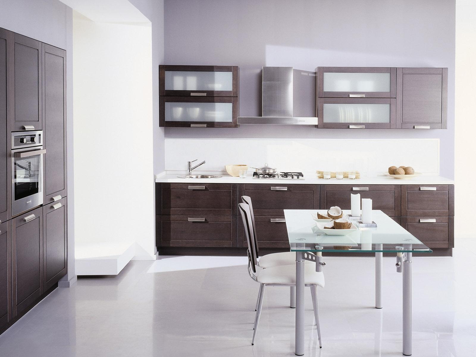 Особенности стиля современной кухонной мебели